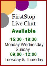 Read more about our Live Chat service