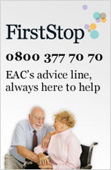 EAC FirstStop Advice - an independent service